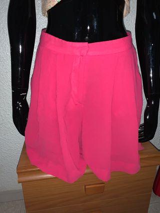 Falda pantalón zara talla xs