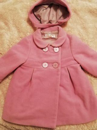 Abrigo vestir bebé niña 9-12 meses
