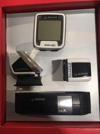 Cuentakilómetros Sigma Rox 8.0