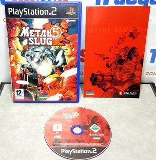 Metal Slug 5 PS2
