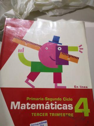 Libros de 4 de primaria nuevos