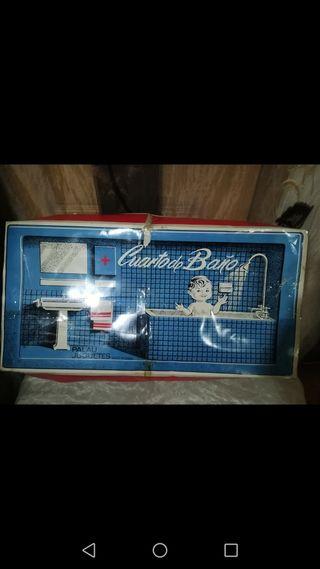 Antiguo juguete Cuarto de baño Palau Juguetes