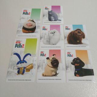 pegatinas kinder pets mascotas 2 2019 stickers