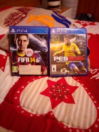 FIFA 14 + PES 16