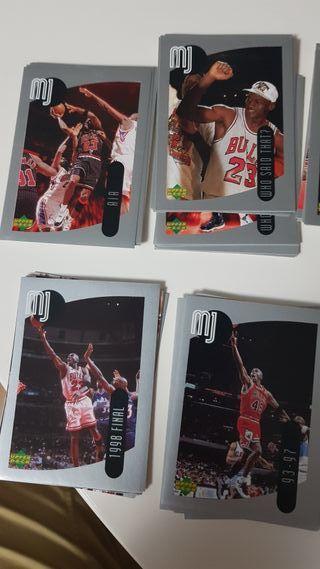 Cromos adhesivos Upper Deck Michael Jordan 1998