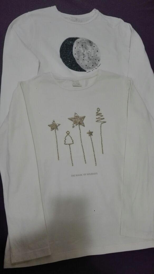Camisetas manga larga niña 6 euros
