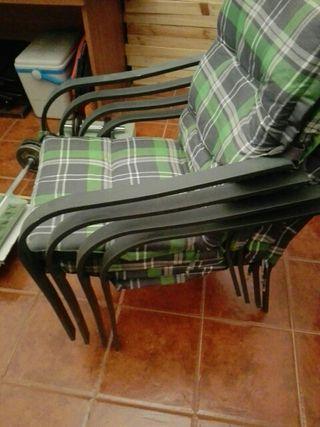 sillas terraza,jardín