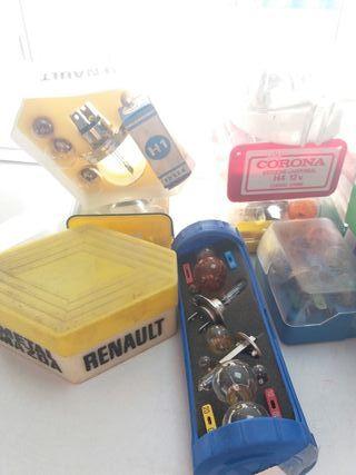 tornillos seguridad W,antenas,cadenas,bombillas.
