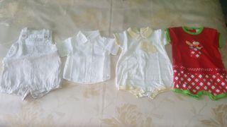 Lote 9 prendas verano niño 1 mes.