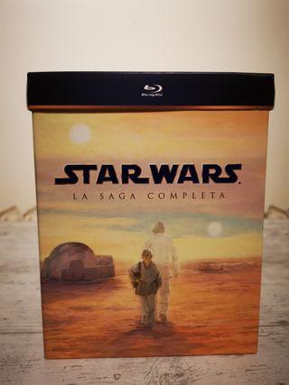 "Star Wars ""La saga completa"" Bluray"