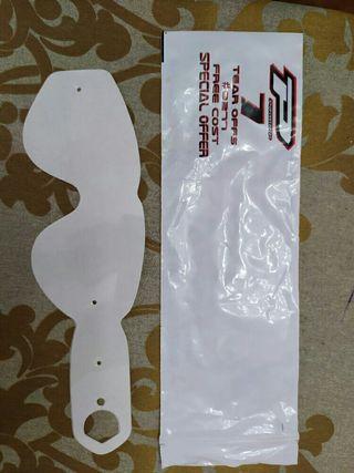 Protección pantalla gafas motocross