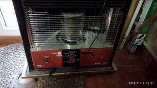 estufa de queroseno+16 litros de queroseno