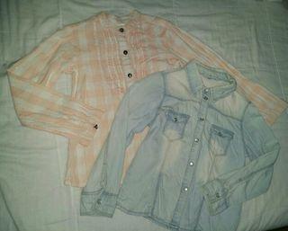 lote de 2 camisas niña