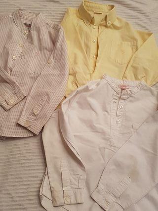 Camisas niño 4/5años