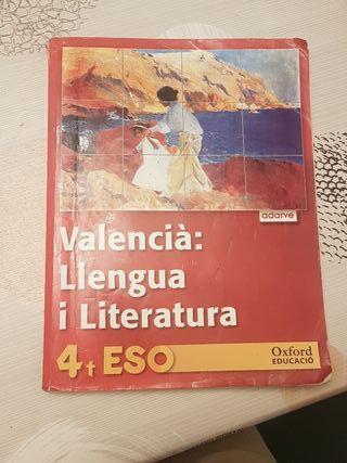 libro de llengua valenciana