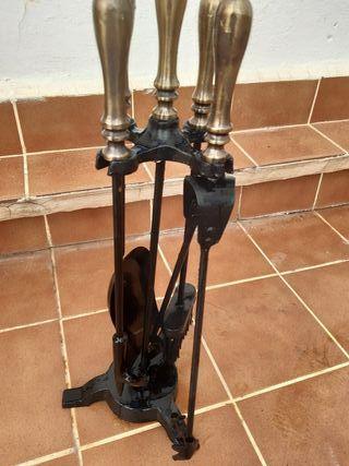 utensilios para limpieza de chimenea