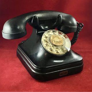 Antiguo teléfono baquelita español, 5523C Standard