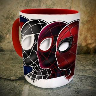 Taza desayuno personalizada Spiderverso Spider-Man