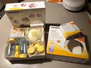 Sacaleches Medela Swing + extras