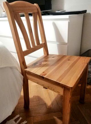 Silla madera IKEA
