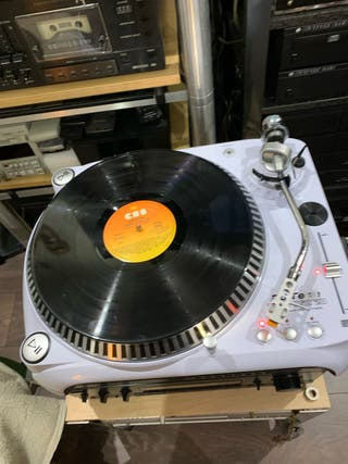 Tocadiscos DJ tech vinyl usb 20
