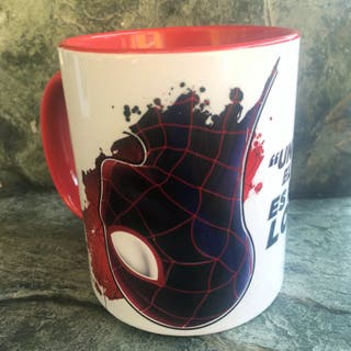 Taza desayuno Ultimate Spiderman Miles Morales