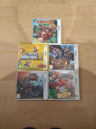 Lote juegos Nintendo 3DS