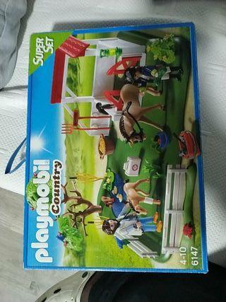 playmobil country super set