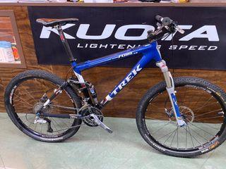 """Bicicleta trek fuel 100 doble carbon 26"""""""