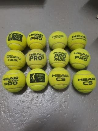 pelotas pádel