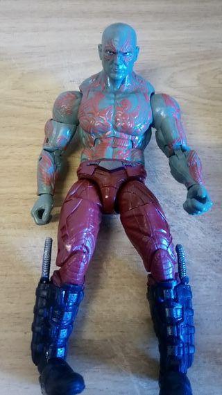 marvel legends figura Drax guardianes vengadores