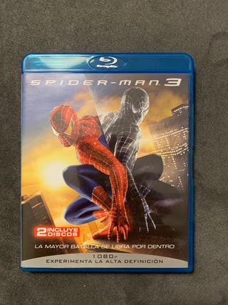 Spider man 3 en BLU RAY