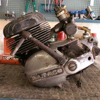 Bultaco metralla 62 cilindro y culata