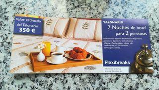 7 NOCHES HOTEL X 70 EUROS