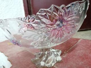 Fuente decorativa de cristal