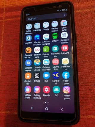 Samsung Galaxy A8 2018 negro