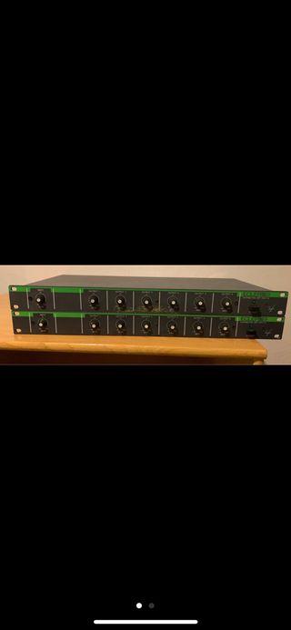 2 amplificadores de distribución poco uso