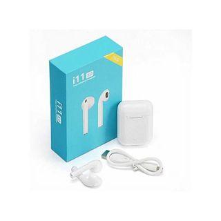 Auriculares i11 TWS inalámbricos Bluetooth Caja ca
