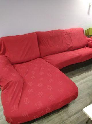 Fundas de sofá chaise long con motivos japineses