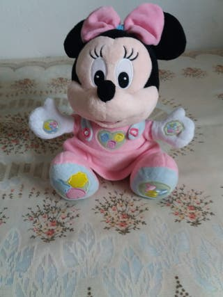 peluche Minnie mouse.