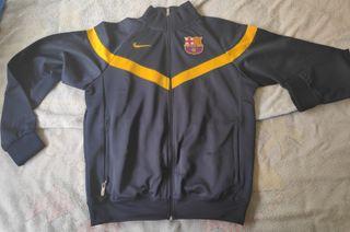 Chaqueta calentamiento FC Barcelona vintage, nueva