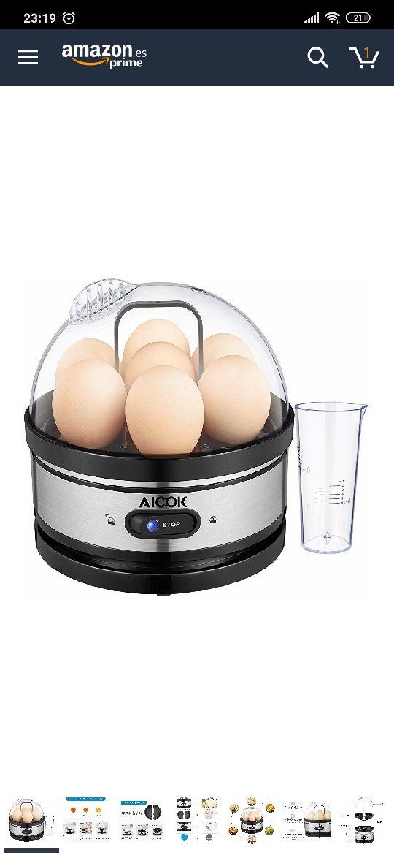 Hervidor de huevos super rápido