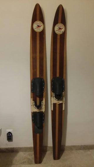 skis acuáticos madera superglide london