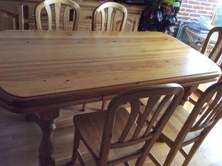 Muebles de salón de madera de pino macizo