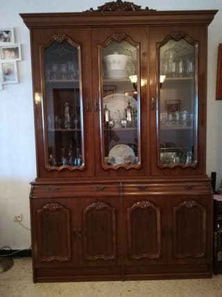 mueble vitrina de salón