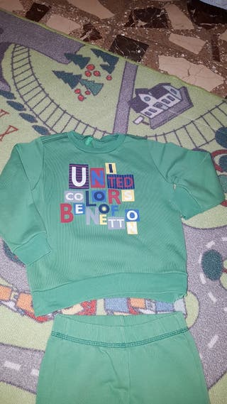 Conjunto Benetton 3 a 4 años