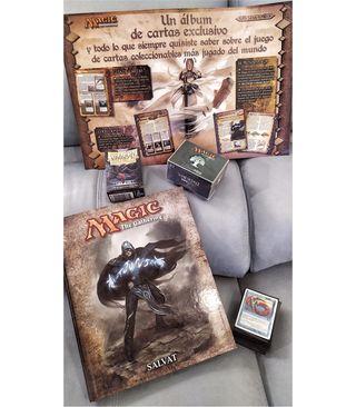 Mazo Magic Tritones+fundas+libro álbum