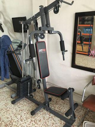 Maquina musculación Fitness