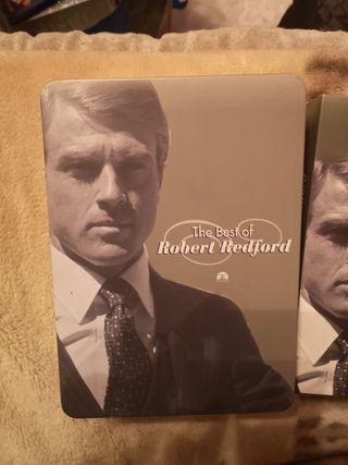 the best of Robert Redford caja metálica como nuev