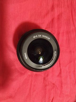 Objetivo cámara Nikon 3000
